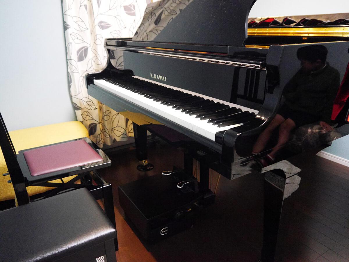 柳本ミュージックスクール カワイ グランドピアノ